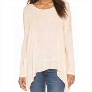 We The Free Shadow Hacci Cross Back Sweater